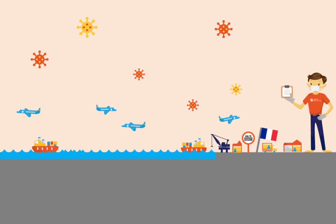 Coronavirus & transports de marchandises France