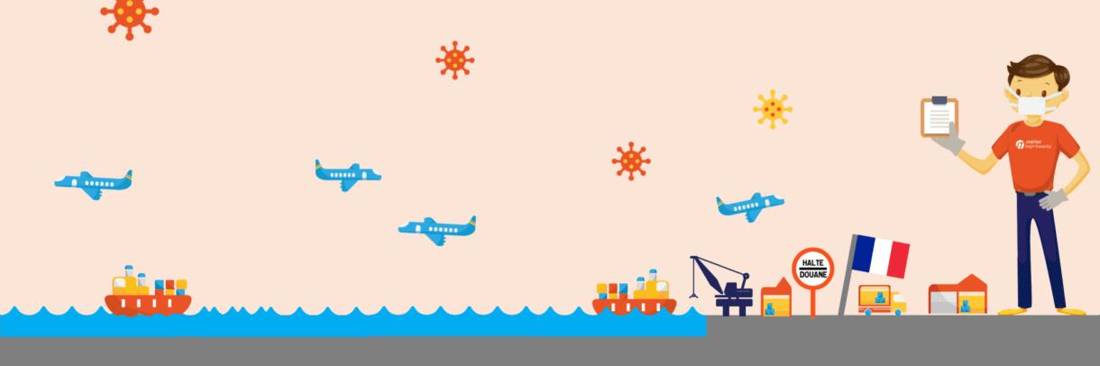 Coronavirus & cargo shipping update - France