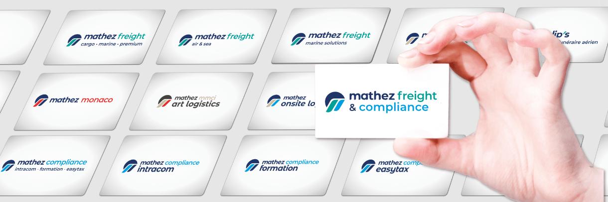MATHEZ FREIGHT & COMPLIANCE - nouvelle identité