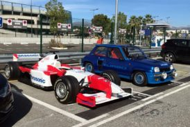 Export of a Toyota F1 showcar to Japan by FCL from Monaco & Nice