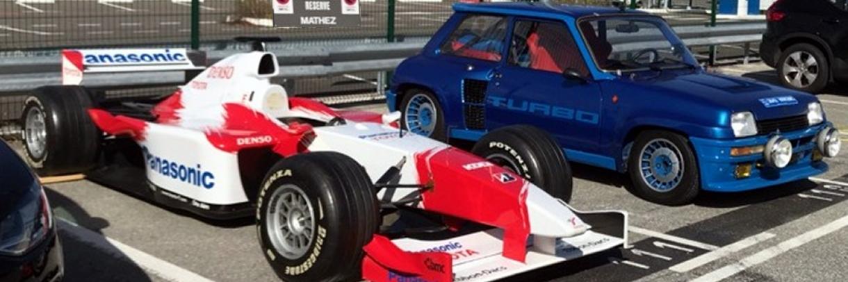 Exportation d'une Renault 5 turbo 1 de 1981 et une Toyota F1 showcar sur le Japon par FCL depuis Monaco & Nice