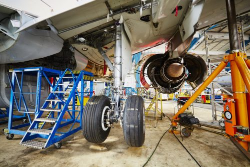 Delivery of parts for aircraft maintenance