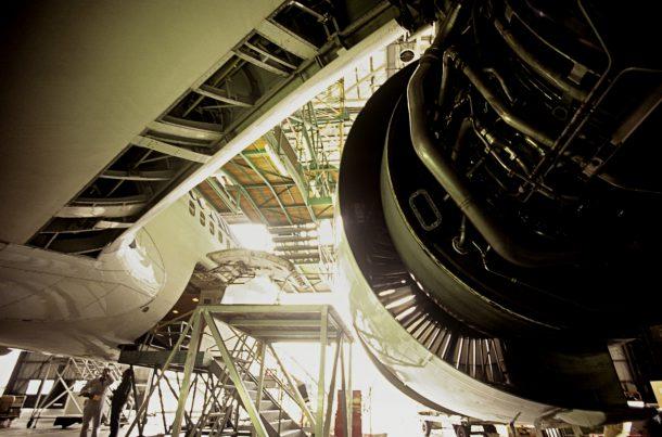 Livraison de pièces pour maintenance d'aéronefs