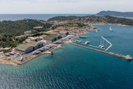 Aerial view of Saint Mandrier