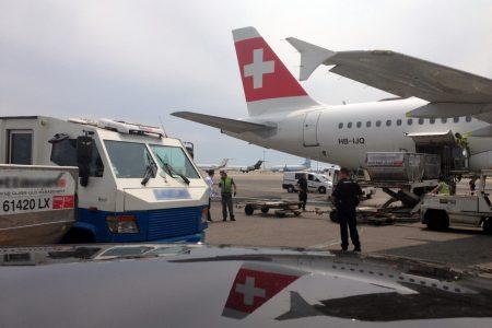 Chargement sécurisé en avion
