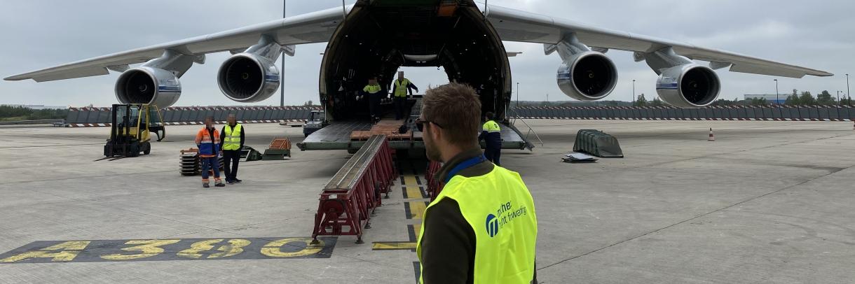 315 tonnes de fret en charter (CDG, Juin 2020)