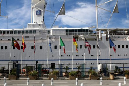 Stopover of Club Med II (port of Nice)