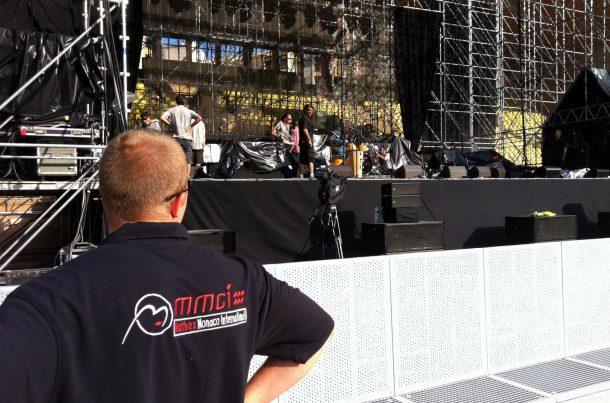 Transport d'équipement - Concert Eagles Monaco 2011