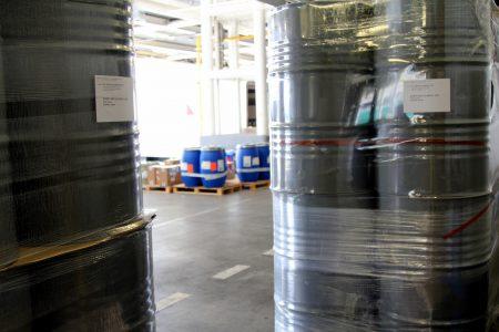 Zone cargo de l'aéroport de Nice