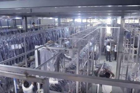 Transport pour l'industrie textile