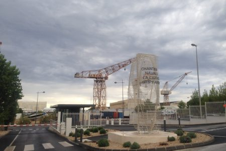 Entrée des chantiers navals, La Ciotat