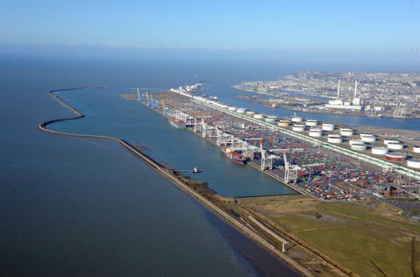 Activité Conteneurs, Port du Havre