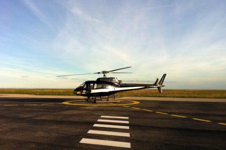 Transport de valeurs par hélicoptère (Courchevel)