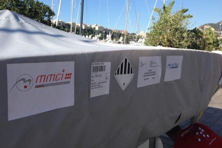 Manutention de bateaux par MMCI