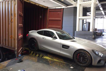 Transport international de véhicules de luxe - Mercedes