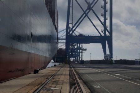 Port de Fos Marseille - baptème du MSC Aliya