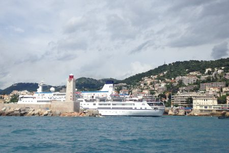 MV Berlin, Port de Nice