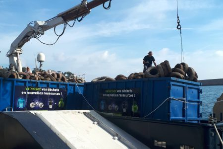 Waste transport, Port of Nice