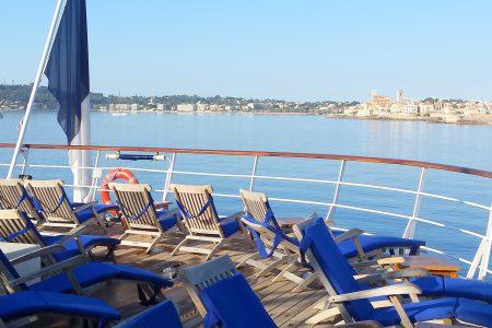 Bateaux de croisière, port de Nice