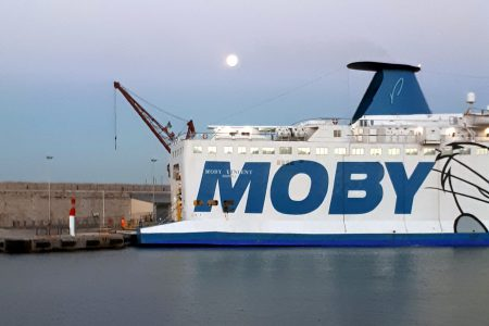 Moby, port of Nice