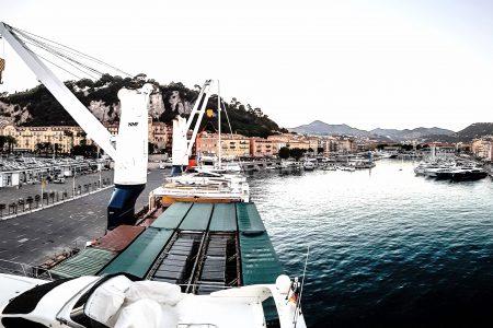 Port de Nice, panorama