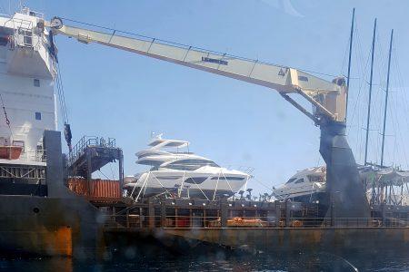 Boat transport, Port of Nice