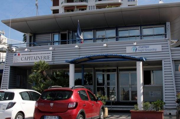 Bureau MATHEZ FREIGHT au Port de Nice