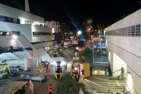 La logistique des exposants au TFWA au Palais des Festivals: c'est Mathez Transports Internationaux