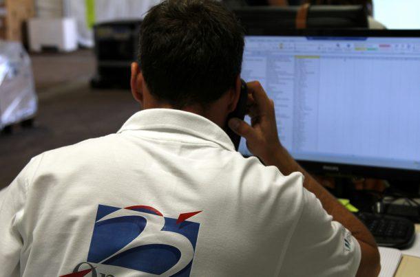 Contrôle des opérations - MATHEZ ONSITE LOGISTICS au TFWA