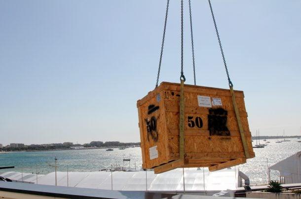 Grutage de caisses - MATHEZ ONSITE LOGISTICS au TFWA