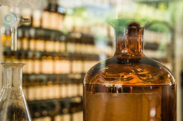 Laboratoire de parfumerie