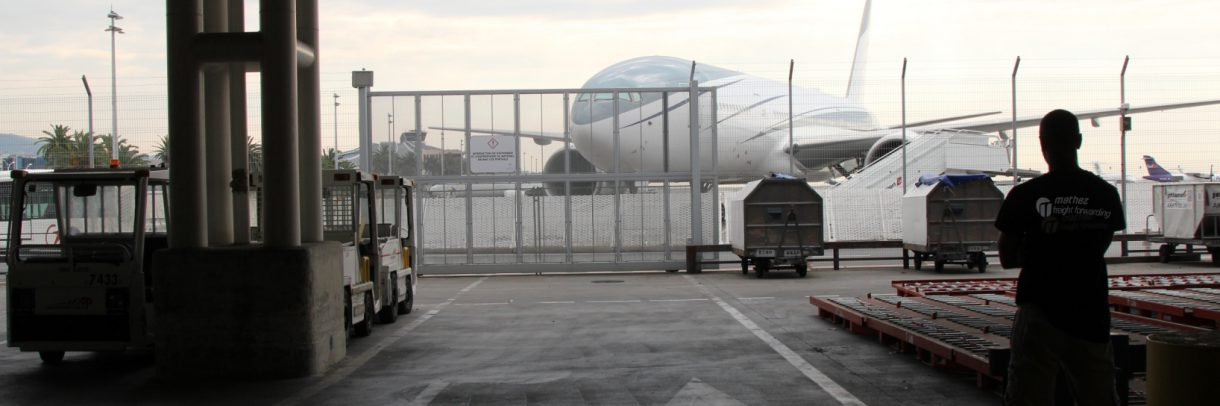 Fret aérien - Zone Parif Aéroport de Nice