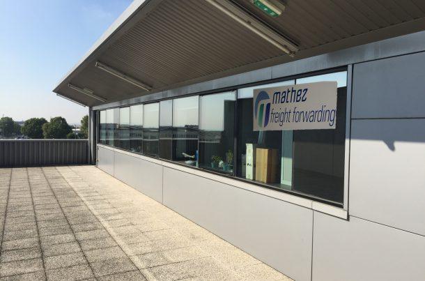 Bureau Mathez Transports Internationaux à l'aéroport de Paris Roissy CDG