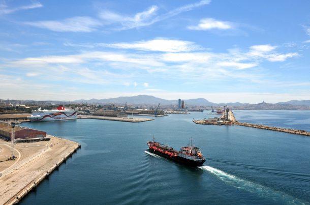 Port de Marseille Fos, avitailleur