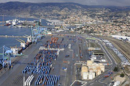 Port de Marseille Fos, bassin Est