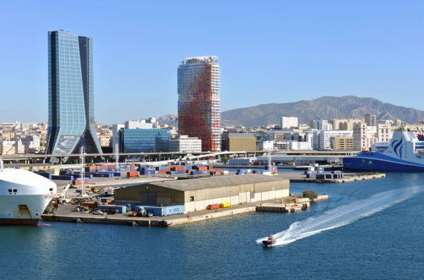 Port de Marseille Fos, terminal Lameneur