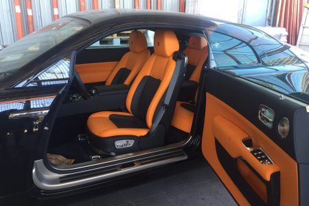 Transport international de véhicules de luxe - Rolls Royce