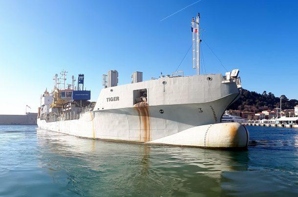 Tiger, navire de construction, Monaco