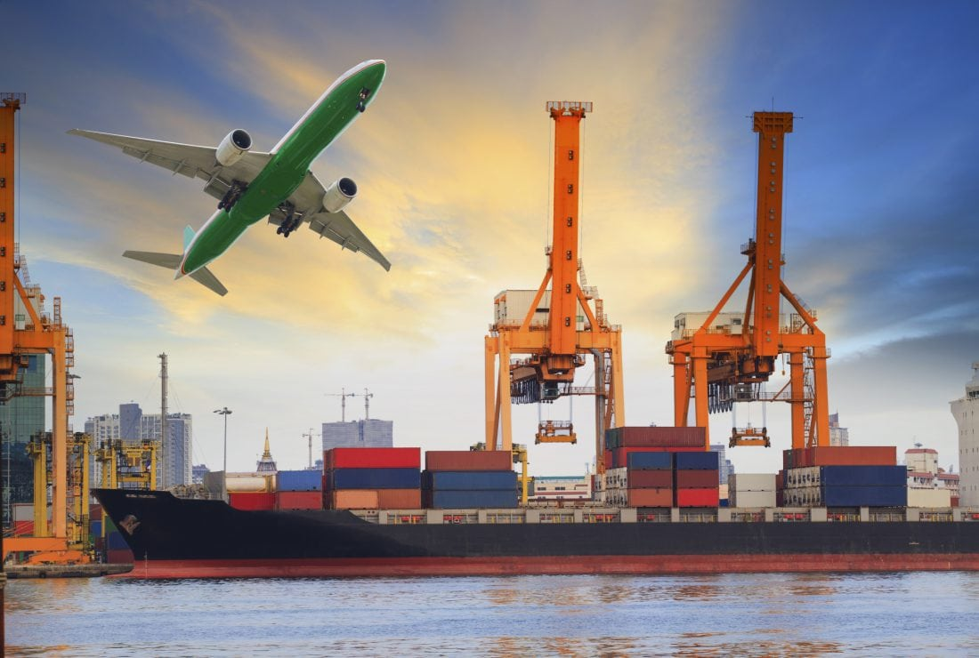 Air and maritime freight forwarder