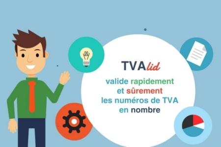 TVAlid vérifie vos numéros de TVA en nombre