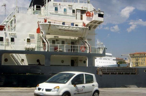 MMCI devant le Vicat, port de Nice