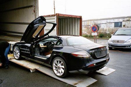 Transport aérien de voitures de luxe - aéroport de Nice