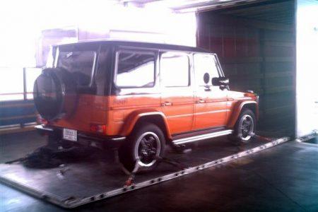 Transport international de véhicules de luxe
