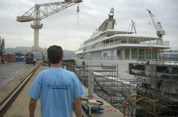 Au service des chantiers navals, La Ciotat