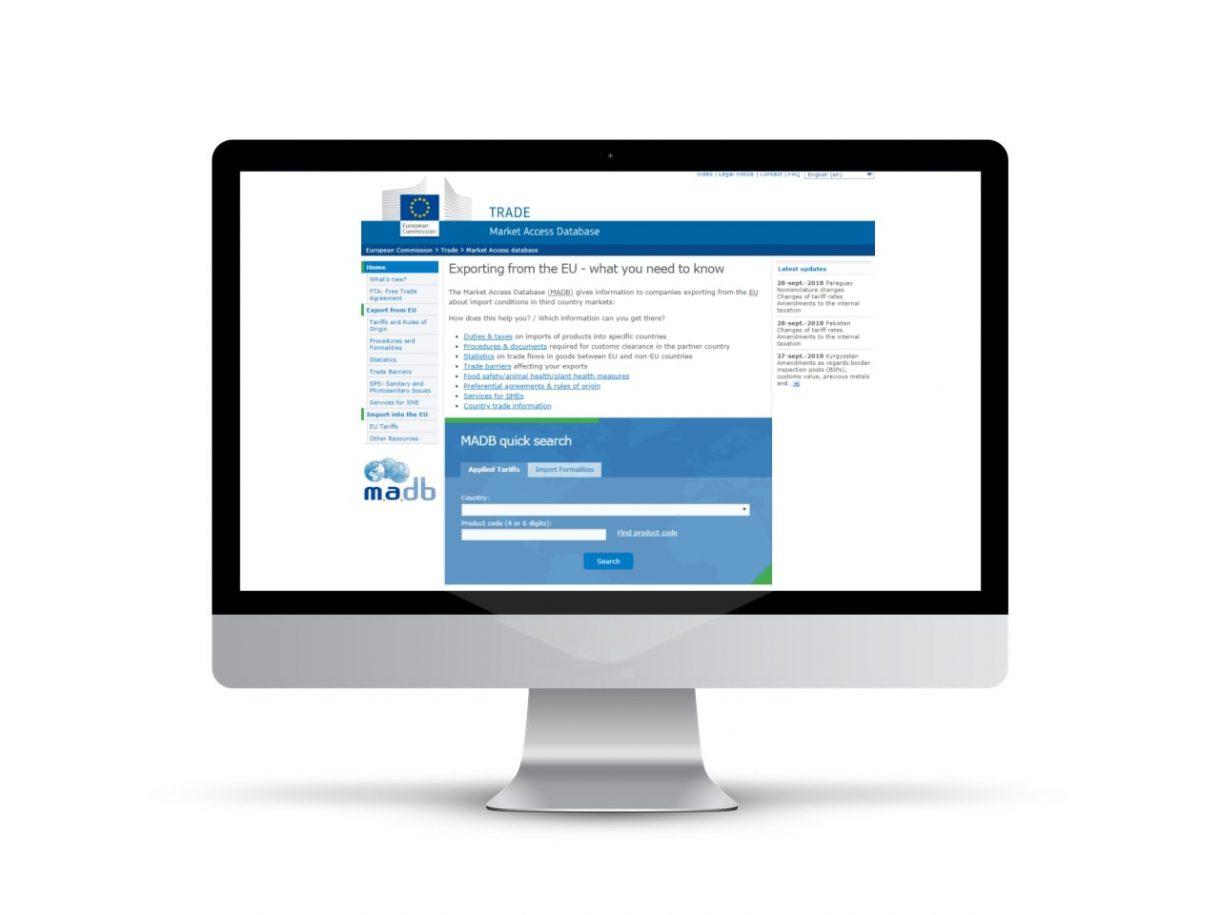 Market Access Database (MADB)